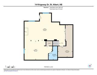 Photo 43: 14 Kingsway Drive: St. Albert House for sale : MLS®# E4208523