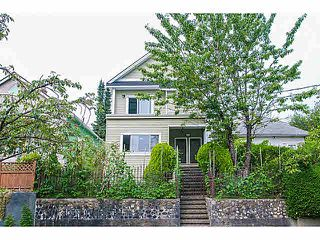 "Photo 1: 3117 ST.CATHERINES Street in Vancouver: Mount Pleasant VE House for sale in ""MOUNT PLEASANT"" (Vancouver East)  : MLS®# V1134159"