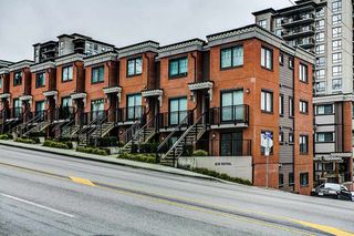 "Photo 1: 9 838 ROYAL Avenue in New Westminster: Downtown NW Townhouse for sale in ""Brickstone Walk"" : MLS®# R2044563"