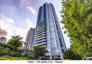 "Photo 1: 3502 1178 HEFFLEY Crescent in Coquitlam: North Coquitlam Condo for sale in ""Obelisk"" : MLS®# R2195278"