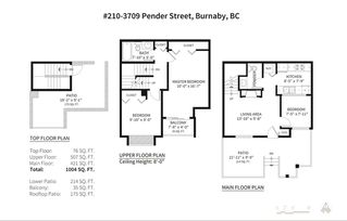 Photo 19: 210 3709 PENDER STREET in Burnaby: Willingdon Heights Townhouse for sale (Burnaby North)  : MLS®# R2209356