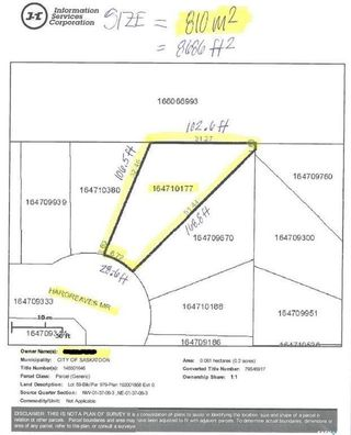 Photo 6: 931 Hargreaves Manor in Saskatoon: Hampton Village Lot/Land for sale : MLS®# SK754642