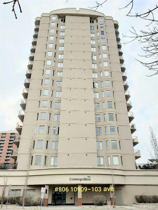 Photo 27: 806 10909 103 Avenue in Edmonton: Zone 12 Condo for sale : MLS®# E4151852