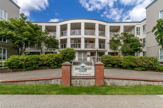 "Photo 1: 204 2339 SHAUGHNESSY Street in Port Coquitlam: Central Pt Coquitlam Condo for sale in ""SHAUGHNESSY COURT"" : MLS®# R2371838"