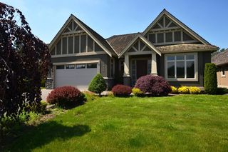 """Photo 1: 3933 COACHSTONE Way in Abbotsford: Abbotsford East House for sale in """"CREEKSTONE ON THE PARK"""" : MLS®# R2371225"""