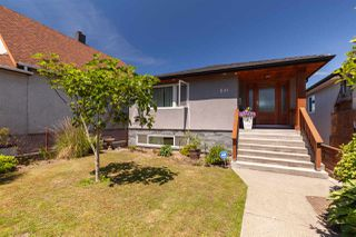 Photo 1: 541 E 28TH Avenue in Vancouver: Fraser VE House for sale (Vancouver East)  : MLS®# R2380881