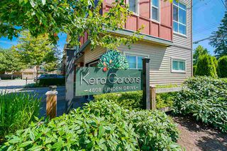 "Photo 1: 210 4808 LINDEN Drive in Ladner: Hawthorne Townhouse for sale in ""KIERA GARDEN"" : MLS®# R2478867"