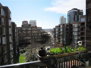 "Photo 14: 615 950 DRAKE Street in Vancouver: Downtown VW Condo for sale in ""Anchor Point 11"" (Vancouver West)  : MLS®# V882505"