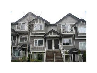 "Photo 1: # 221 368 ELLESMERE ST in Burnaby: Capitol Hill BN Townhouse for sale in ""Hilltop Green"" (Burnaby North)  : MLS®# V1034413"