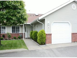 "Photo 1: 38 2081 WINFIELD Drive in Abbotsford: Abbotsford East Townhouse for sale in ""Ascot Hills"" : MLS®# F1413528"