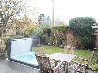 Photo 1: 1760 WATERLOO Street in Vancouver: Kitsilano House 1/2 Duplex for sale (Vancouver West)  : MLS®# V1103743