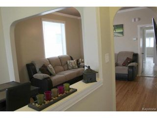 Photo 3: 155 Roseberry Street in WINNIPEG: St James Residential for sale (West Winnipeg)  : MLS®# 1512189