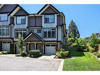 "Photo 1: 14 6299 144TH Street in Surrey: Sullivan Station Townhouse for sale in ""Altura"" : MLS®# F1442845"