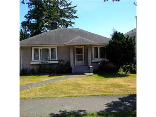 Photo 1: 4042 W 37TH Avenue in Vancouver: Dunbar House for sale (Vancouver West)  : MLS®# V1127717