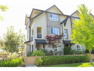 "Photo 1: 3 7140 RAILWAY Avenue in Richmond: Granville Townhouse for sale in ""CORNERSTONE"" : MLS®# V1130629"