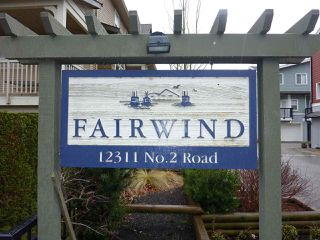 "Photo 2: 37 12311 NO 2 Road in Richmond: Steveston South Townhouse for sale in ""FAIRWIND"" : MLS®# R2131898"