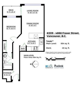"Photo 16: 209 4868 FRASER Street in Vancouver: Fraser VE Condo for sale in ""FRASERVIEW TERRACE"" (Vancouver East)  : MLS®# R2149989"