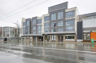 "Photo 1: 209 4868 FRASER Street in Vancouver: Fraser VE Condo for sale in ""FRASERVIEW TERRACE"" (Vancouver East)  : MLS®# R2149989"