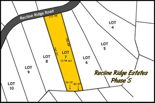 Main Photo: Lot 7 Recline Ridge Road in Tappen: Land Only for sale : MLS®# 10176928