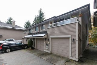 "Photo 1: 56 181 RAVINE Drive in Port Moody: Heritage Mountain Townhouse for sale in ""VIEW POINT"" : MLS®# R2219912"