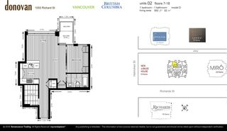 """Photo 8: 1802 1055 RICHARDS Street in Vancouver: Downtown VW Condo for sale in """"Donovan"""" (Vancouver West)  : MLS®# R2235366"""