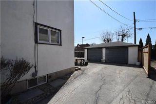 Photo 20: 834 Winnipeg Avenue in Winnipeg: Weston Residential for sale (5D)  : MLS®# 1809433