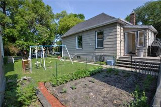 Photo 16: 375 Rutland Street in Winnipeg: St James Residential for sale (5E)  : MLS®# 1817002