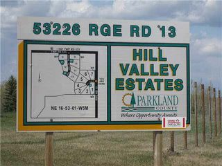 Main Photo: 2 53226 Range Road 13: Rural Parkland County Rural Land/Vacant Lot for sale : MLS®# E4132059