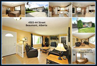 Photo 1: 4503 44 Street: Beaumont House for sale : MLS®# E4150939