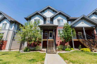 Photo 1: 44 655 WATT Boulevard in Edmonton: Zone 53 Townhouse for sale : MLS®# E4159215