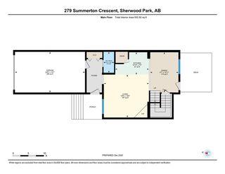 Photo 42: 279 SUMMERTON Crescent: Sherwood Park House Half Duplex for sale : MLS®# E4223744