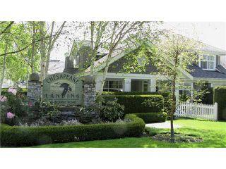 """Photo 1: 92 5900 FERRY Road in Ladner: Neilsen Grove Townhouse for sale in """"CHESAPEAKE LANDING"""" : MLS®# V893001"""