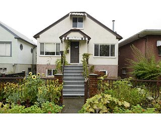 Main Photo: 2371 ADANAC Street in Vancouver: Hastings House for sale (Vancouver East)  : MLS®# V1085430
