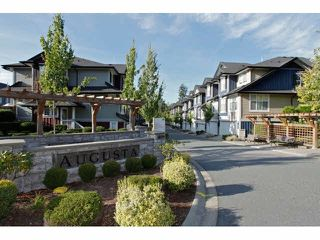 "Photo 1: 111 18199 70TH Avenue in Surrey: Cloverdale BC Townhouse for sale in ""AUGUSTA"" (Cloverdale)  : MLS®# F1425143"