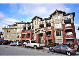 "Photo 1: 108 285 ROSS Drive in New Westminster: Fraserview NW Condo for sale in ""THE GROVE AT VICTORIA HILL"" : MLS®# V1101101"