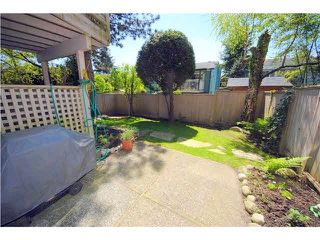 "Photo 20: 6 1195 FALCON Drive in Coquitlam: Eagle Ridge CQ Townhouse for sale in ""THE COURTYARDS"" : MLS®# V1108276"