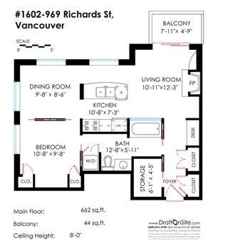 "Photo 16: 1602 969 RICHARDS Street in Vancouver: Downtown VW Condo for sale in ""MONDRIAN 2"" (Vancouver West)  : MLS®# R2060003"