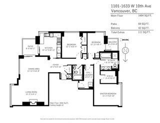 """Photo 20: 1101 1633 W 10TH Avenue in Vancouver: Fairview VW Condo for sale in """"HENNESSY HOUSE"""" (Vancouver West)  : MLS®# R2132652"""