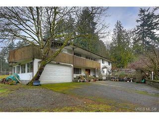Photo 1: 2958 Munn Rd in VICTORIA: Hi Eastern Highlands House for sale (Highlands)  : MLS®# 749585