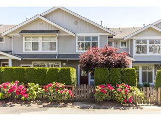 "Photo 1: 73 20449 66 Avenue in Langley: Willoughby Heights Townhouse for sale in ""Natures Landing"" : MLS®# R2174039"