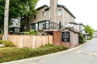 Photo 1: 38 1195 FALCON DRIVE in Coquitlam: Eagle Ridge CQ Townhouse for sale : MLS®# R2208911
