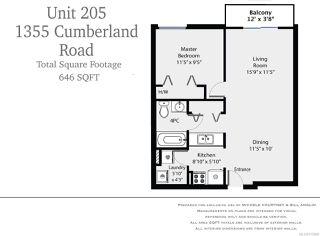 Photo 10: 205 1355 CUMBERLAND ROAD in COURTENAY: CV Courtenay City Condo for sale (Comox Valley)  : MLS®# 775068
