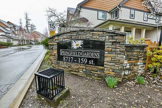 "Photo 18: 47 8717 159TH Street in Surrey: Fleetwood Tynehead Townhouse for sale in ""Springfield Gardens"" : MLS®# R2250829"