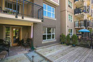 "Photo 3: 112 5775 IRMIN Street in Burnaby: Metrotown Condo for sale in ""Macpherson Walk"" (Burnaby South)  : MLS®# R2285447"