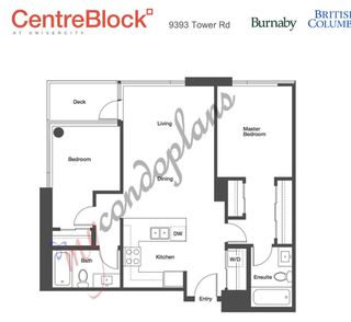 """Main Photo: 615 9393 TOWER Road in Burnaby: Simon Fraser Univer. Condo for sale in """"Centre Block"""" (Burnaby North)  : MLS®# R2363104"""