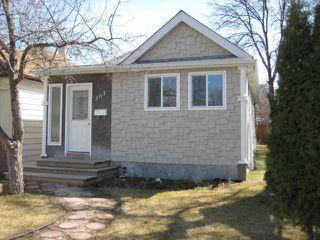 Photo 1: 301 INGLEWOOD Street in WINNIPEG: St James Residential for sale (West Winnipeg)  : MLS®# 1107273