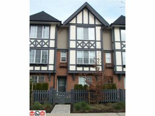 Photo 1: 129 20875 80 Avenue in : Willoughby Heights Townhouse for sale (Langley)  : MLS®# F1008850