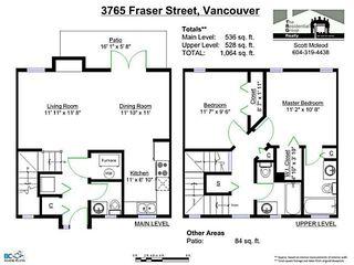 Photo 10: 3765 FRASER Street in Vancouver: Fraser VE Townhouse for sale (Vancouver East)  : MLS®# V1063901