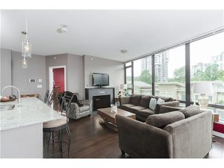"""Photo 4: 306 400 CAPILANO Road in Port Moody: Port Moody Centre Condo for sale in """"ARIA II AT SUTTERBROOK"""" : MLS®# V1126880"""
