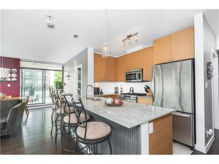 """Photo 9: 306 400 CAPILANO Road in Port Moody: Port Moody Centre Condo for sale in """"ARIA II AT SUTTERBROOK"""" : MLS®# V1126880"""